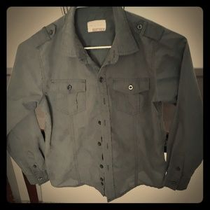 Sovereign code kids button down shirt size 6